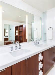 mid century modern bathroom vanity ideas renovated la residence inspired by its mid century modern