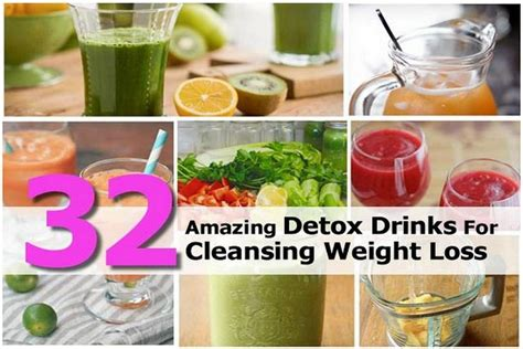 Detox Loss by 32 Amazing Detox Drinks For Cleansing Weight Loss