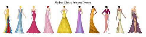 Modern disney princess dresses by ellevira on deviantart