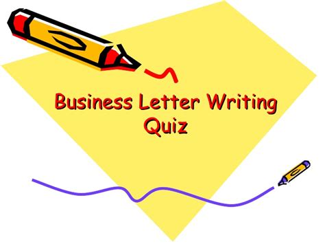 Objective Questions On Business Letter Writing business letter writing quiz 28 images business letter