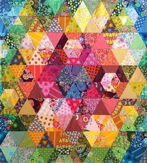 Patchwork Prism Quilt - patchwork prism quilt by horner the
