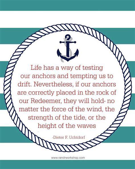Anchor Print Inspirational Print Quot - die 17 besten ideen zu anchor quote auf pinterest s 252 223 e