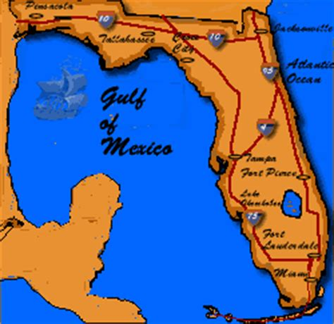 map of florida peninsula brief maritime history of florida the story of florida s