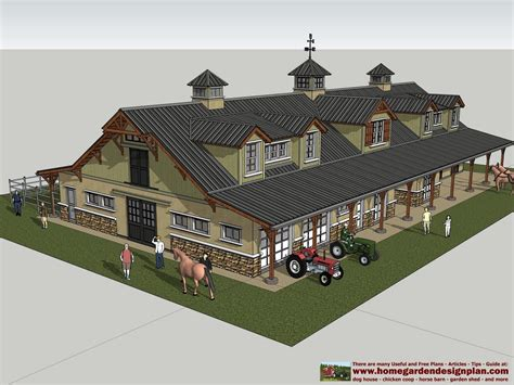 house and barn combination plans home garden plans hb100 horse barn plans horse barn design