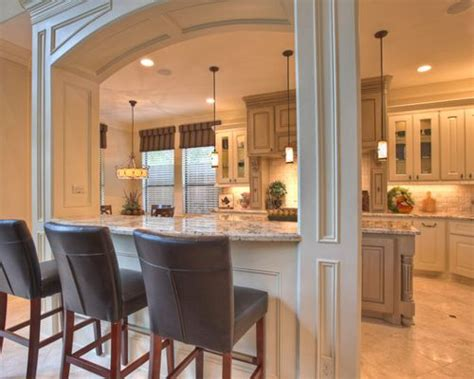 Open Kitchen With Columns by Support Columns Houzz