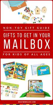 non toy gift guide gifts to receive in your mailbox