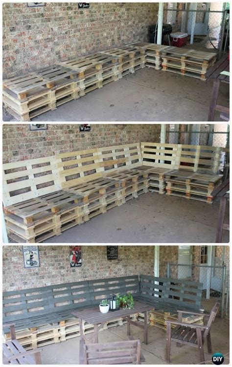 Diy Patio Furniture Out Of Pallets by 25 Best Ideas About Pallet Furniture On