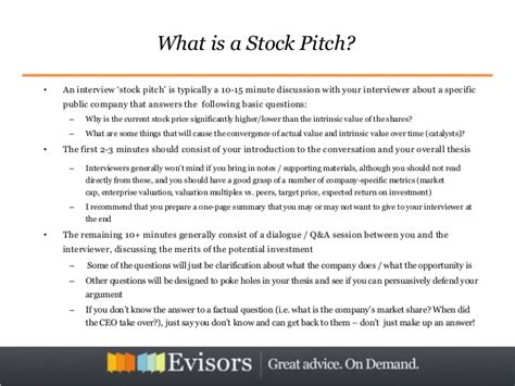 hedge fund pitch book template related keywords suggestions for stock pitch