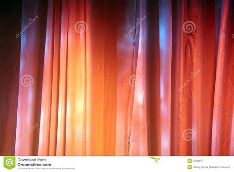 tende colorate tende colorate della fase fotografia stock libera da