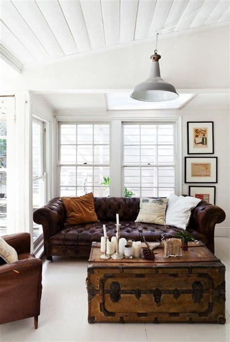 ways  integrate  chesterfield sofa