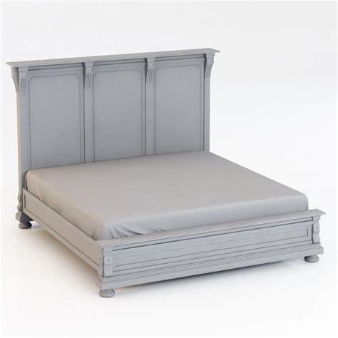 restoration hardware king bed restoration hardware st james king bed wit 3d model max cgtrader com