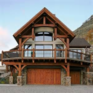 Modern Foyer Lights Aspen Grove Lane Vail Timber Frame House Traditional