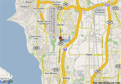 seattle map with airport inn express suites seattle airport seattle deals