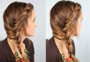 and braids hairstyles subtle twist into side braid cute girls hairstyles