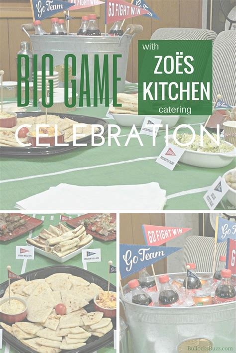 Zoes Kitchen Catering by Kick Your Big Celebration With Zo 235 S Kitchen