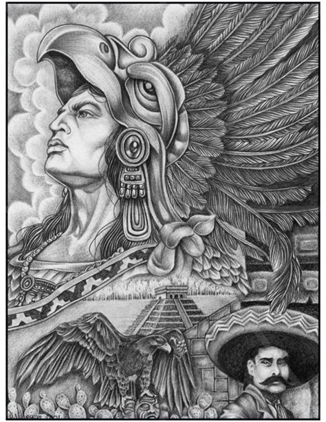 imagenes aztecas cholos chicano art gallery google search art pinterest