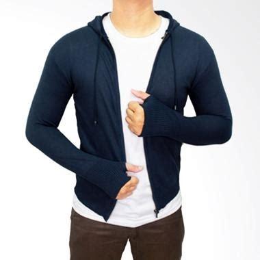 Jaket Sweater Ariel Finger Navy Pria Wanita jual rajut jaket pria navy harga kualitas terjamin blibli