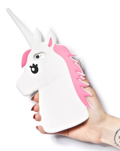 white pink unicorn iphone for iphone 5 5s