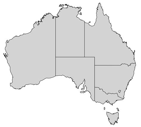 australia map template map of australia template