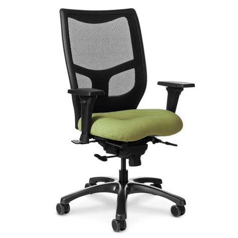 Office Master Yes Chair by Office Master Grade 5 Fabric Memory Foam Seat Mesh Back Yes Series Office Chair Ys78 Mesh