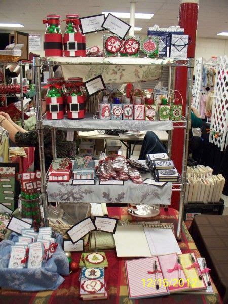christmas craft show signs craft fair santa jars pads by donna wicks see pics on stmpin conn for prices