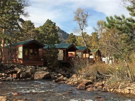 the cabins picture of paradise on the river estes park