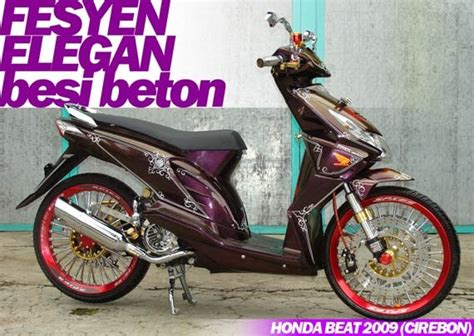 Roller Roler Loler Kawahara Vario 110 Cc 8 Gram modif honda beat yang pernah nangkring di motorplus oto trendz