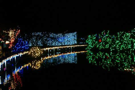 christmas light train stanley park with bright nights