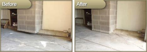 garage floor repair accurate concrete leveling cleveland