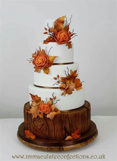 Wedding Cake Autumn 581 best autumn cakes images on autumn cake