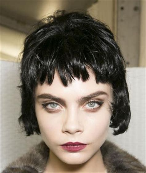 the wet look for black short hair short choppy wet look hairstyle casual fall everyday