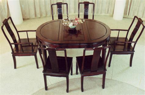 oriental dining room carved rosewood long life design