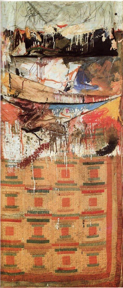robert rauschenberg bed flashcards art history exam 3 studyblue