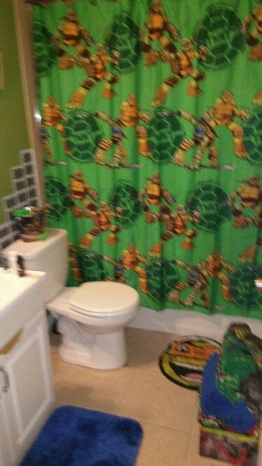 turtle bathroom 17 beste idee 235 n over ninja turtle bathroom op pinterest