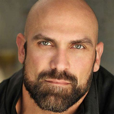 bald head round face black woman bald with a beard 17 beard styles for bald men beard