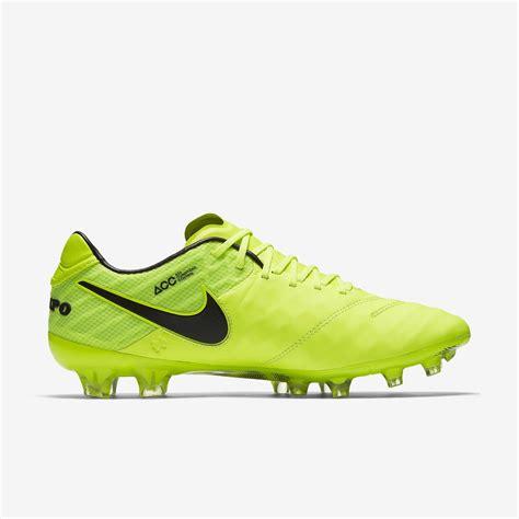 Nike Tiempo Legend Vi Fg Volt nike tiempo legend vi fg radiation flare pack volt volt black black football boots