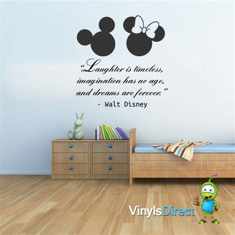 disney wall stickers 28 walt disney wall sticker quote disney quote poem family tinkerbell wall