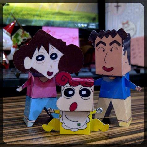 Crayon Shin Chan Family crayon shin chan s family diy crayons and