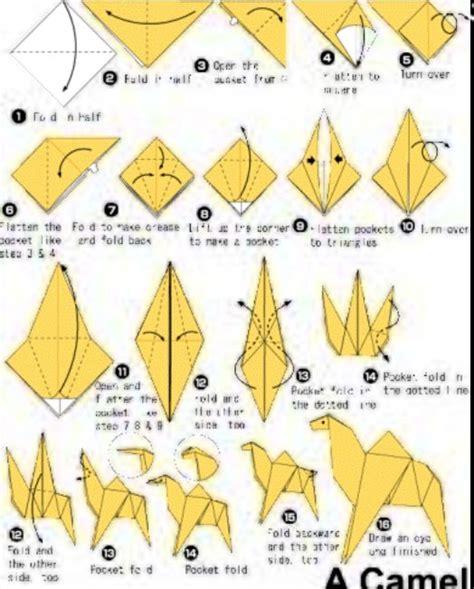 Origami Camel - origami camel not caramel origami caramel