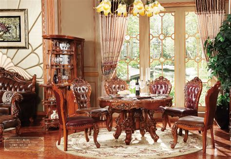 Classical Dining Room by New Classical Dining Room Furniture Wooden Carving Dinning