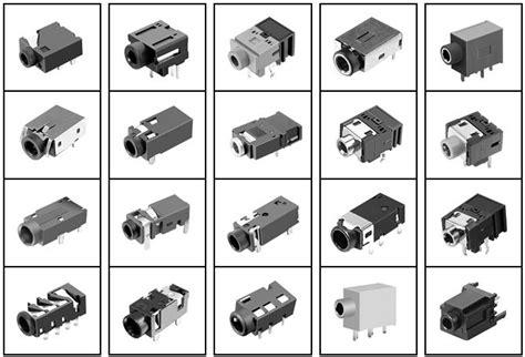 Socket Mini Stereo 3 5 Pcb 5 pin 1 8 quot 3 5mm stereo socket pcb panel mount for 3