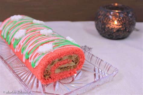 kuchen zum selberbacken spekulatius kuchen rezept weihnachtliche biskuitrolle