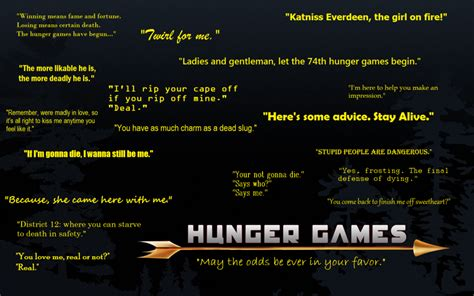 Theme Of The Hunger Games With Quotes | hunger games quotes by tureis great list of