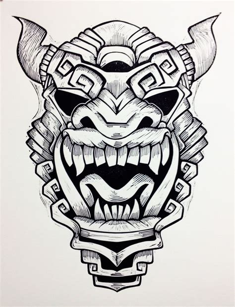 printable aztec mask 17 best images about cub masks on pinterest coloring