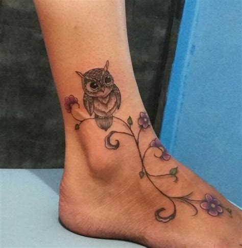 owl tattoo designs for foot owl tattoos and designs that are actually amazing