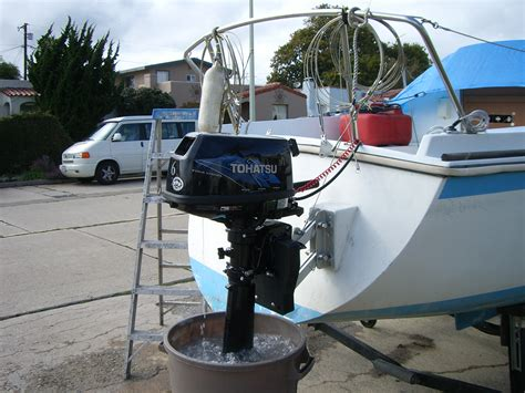 boat motors have sailboat with outboard motor impremedia net