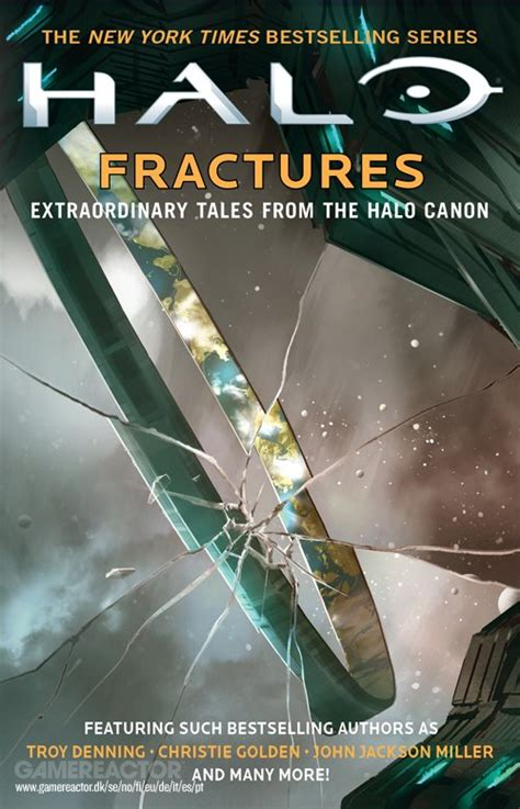 fracture universe books new collection of halo novels announced gamereactor uk