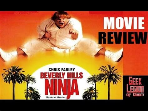 film ninja in beverly hills beverly hills ninja 1997 chris farley comedy movie