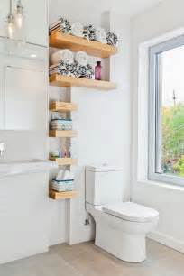 decorating ideas for bathroom shelves ideas de almacenaje para ba 241 os peque 241 os decoraci 243 n de interiores y exteriores estiloydeco
