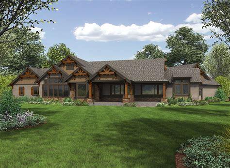 mountain ranch house plans plan 23609jd one story mountain ranch home with options